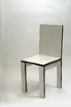 Designer Chair - Painted and Shaped Wood